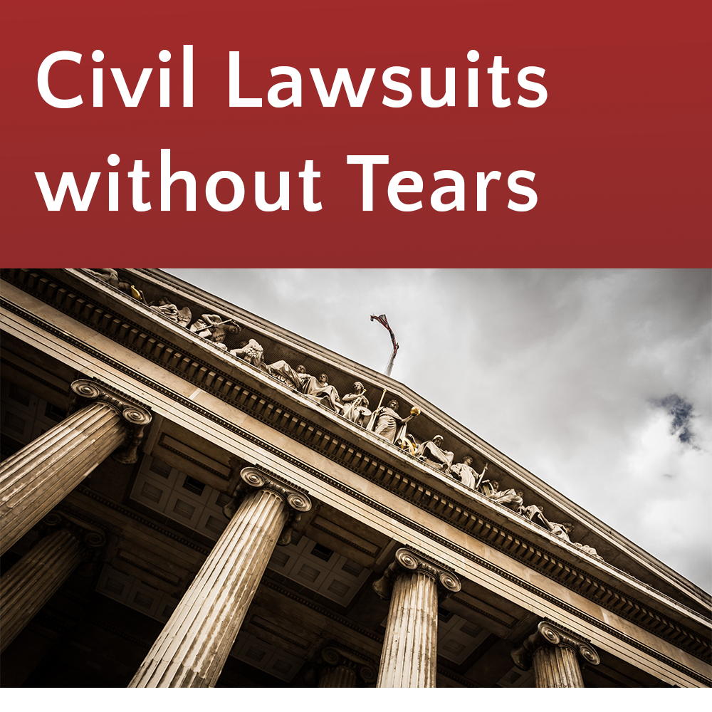 Civil Lawsuits Without Tears @ Kent Library (KCLS)