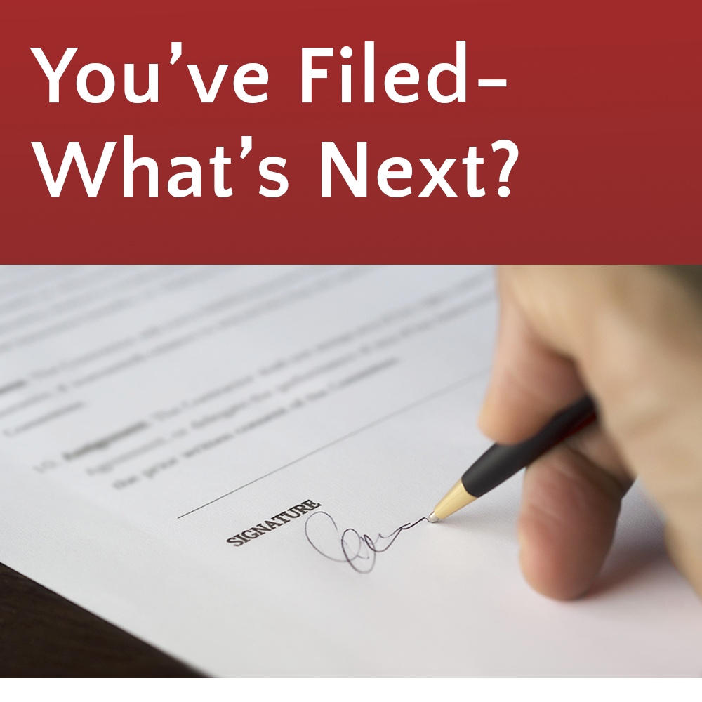 You've Filed -- What's Next? @ Burien Library (KCLS)