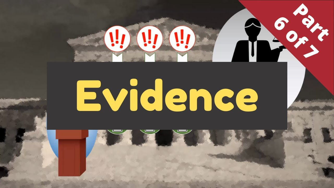 Lawsuits Without Tears - Part 6 (Evidence)