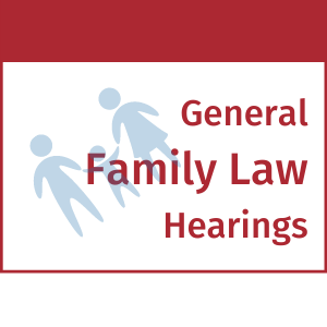 family law hearings scheduling temporary orders